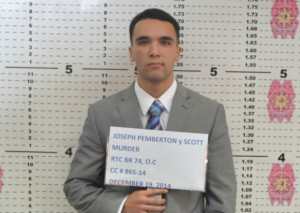 Mugshot of US Marine Joseph Scott Pemberton. Photo from Inquirer.net