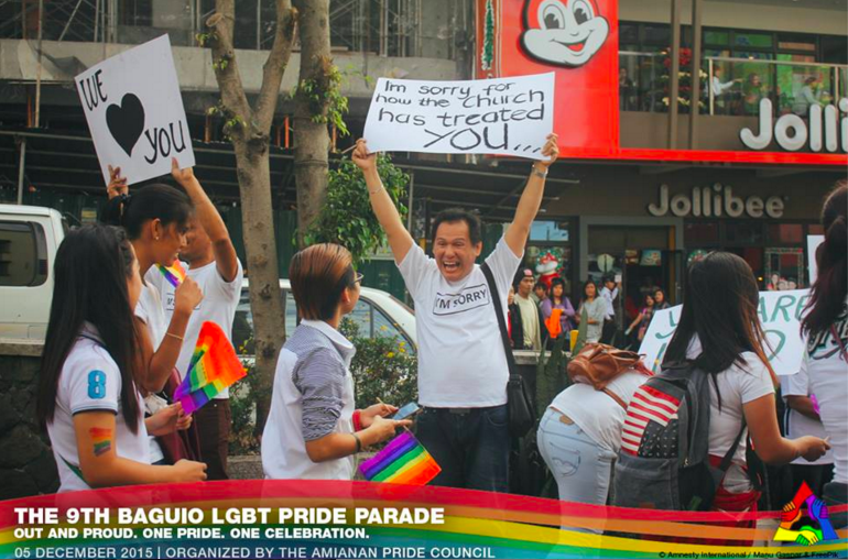 Photo from the Amianan Pride Council Facebook account (facebook.com/amiananpridecouncil) (c) Amnesty International