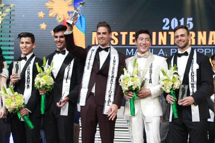 Mr International top 5